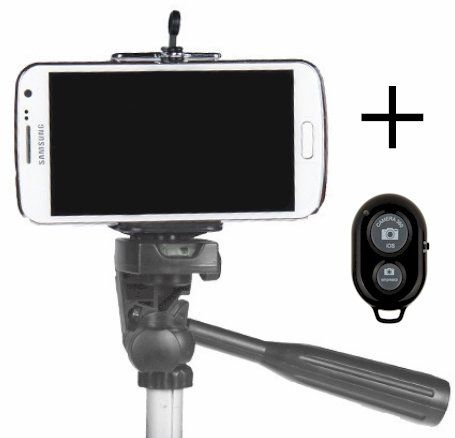 new product 4a04d c83ff Wish list - Amazon.com: Cell Phone Tripod Adapter and Bluetooth ...