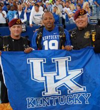 Kentucky is one of the first schools to offer a class helping veterans transition for service to school, UK 101-004 is a core class for veteran freshman.