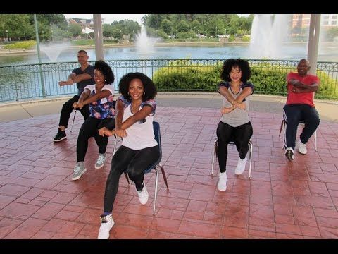 Latin zumba inspired chair exercise fitness workout 1 for Chair zumba
