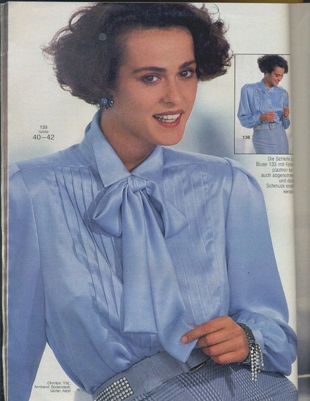 pin von cornelia auf 80s 90s pinterest satin blouses. Black Bedroom Furniture Sets. Home Design Ideas