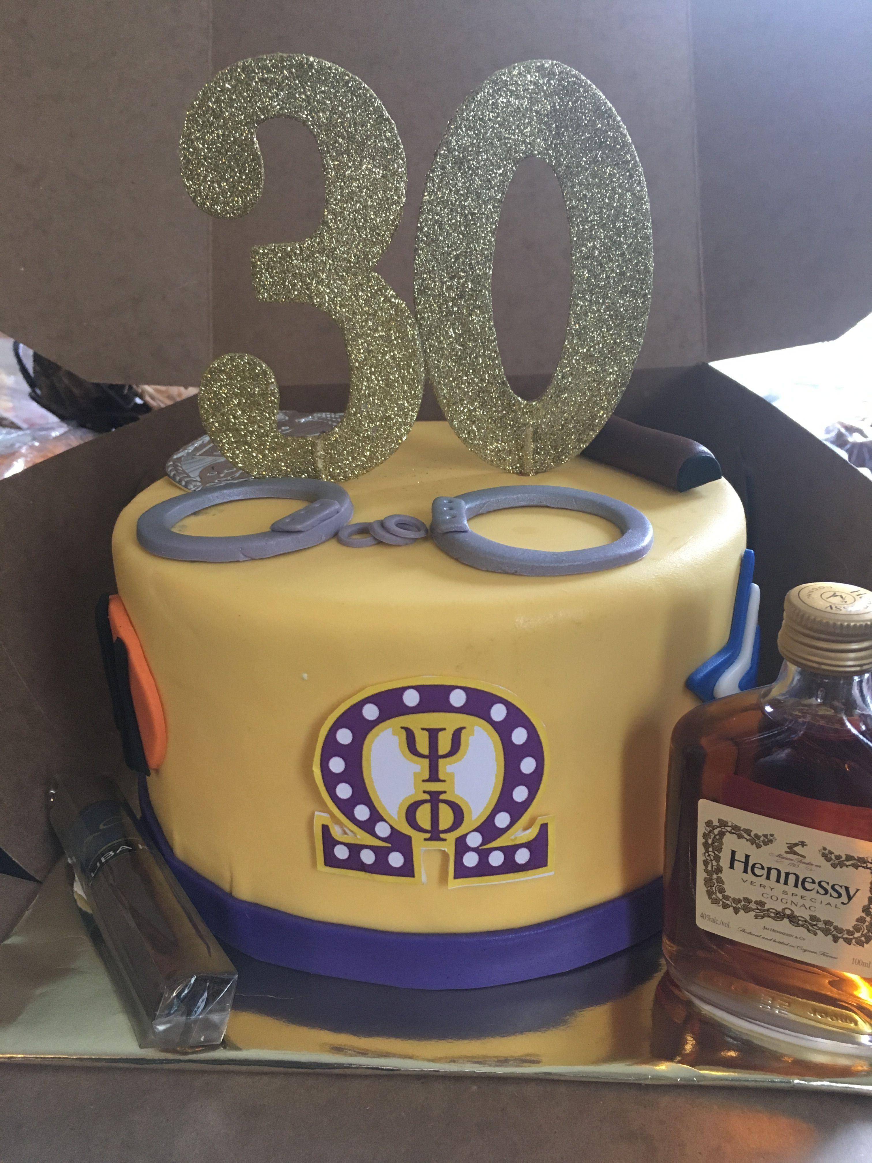 Omega Psi Phi Cake Birthday Cakes In 2018 Pinterest Omega Psi