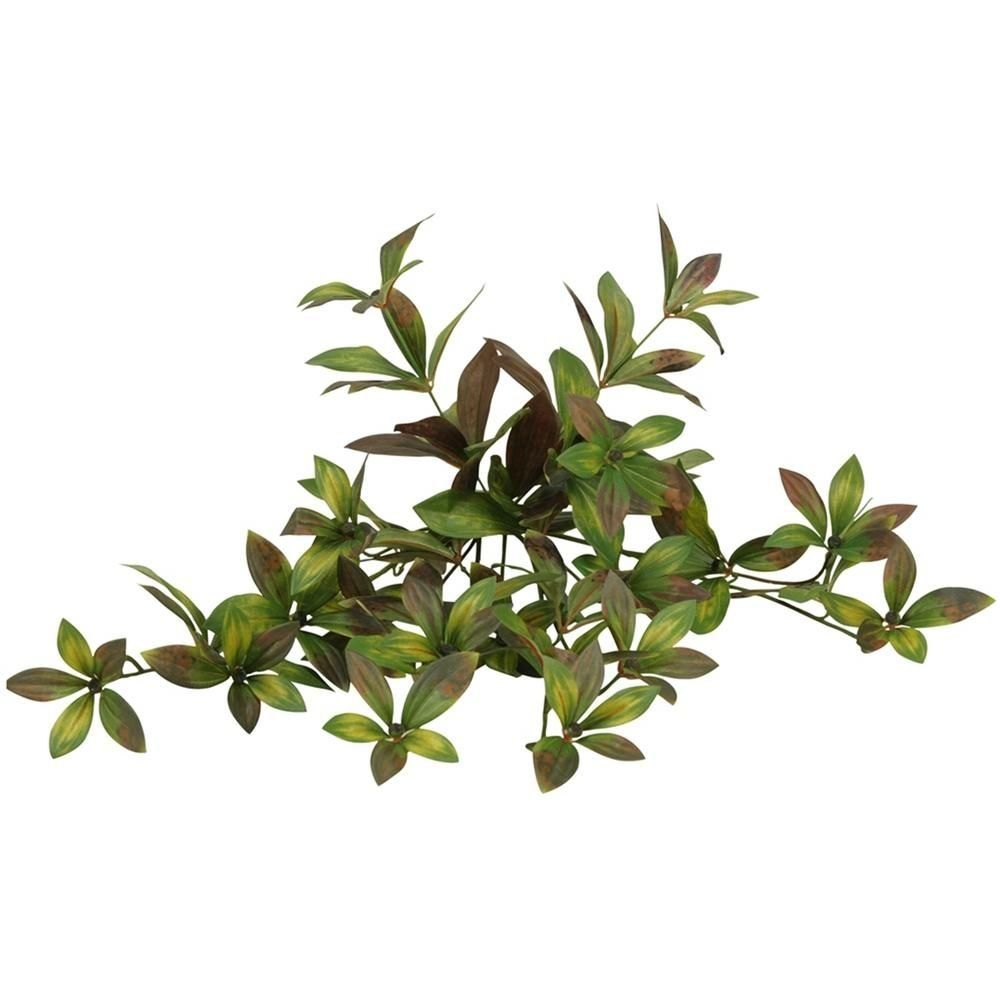 Dw silks indoor 25 in peony foliage hanging bush set of