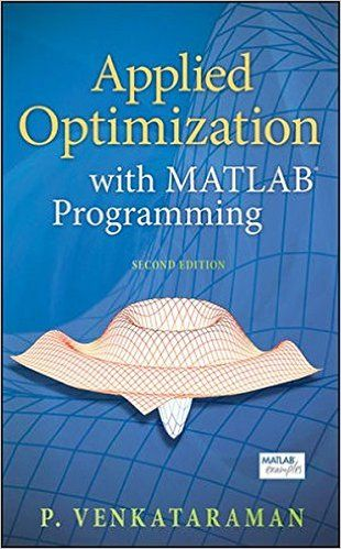 Applied Optimization with MATLAB Programming | Engine