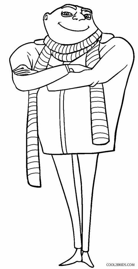 Despicable Me Coloring Pages Coloring Pages For Kids Coloring