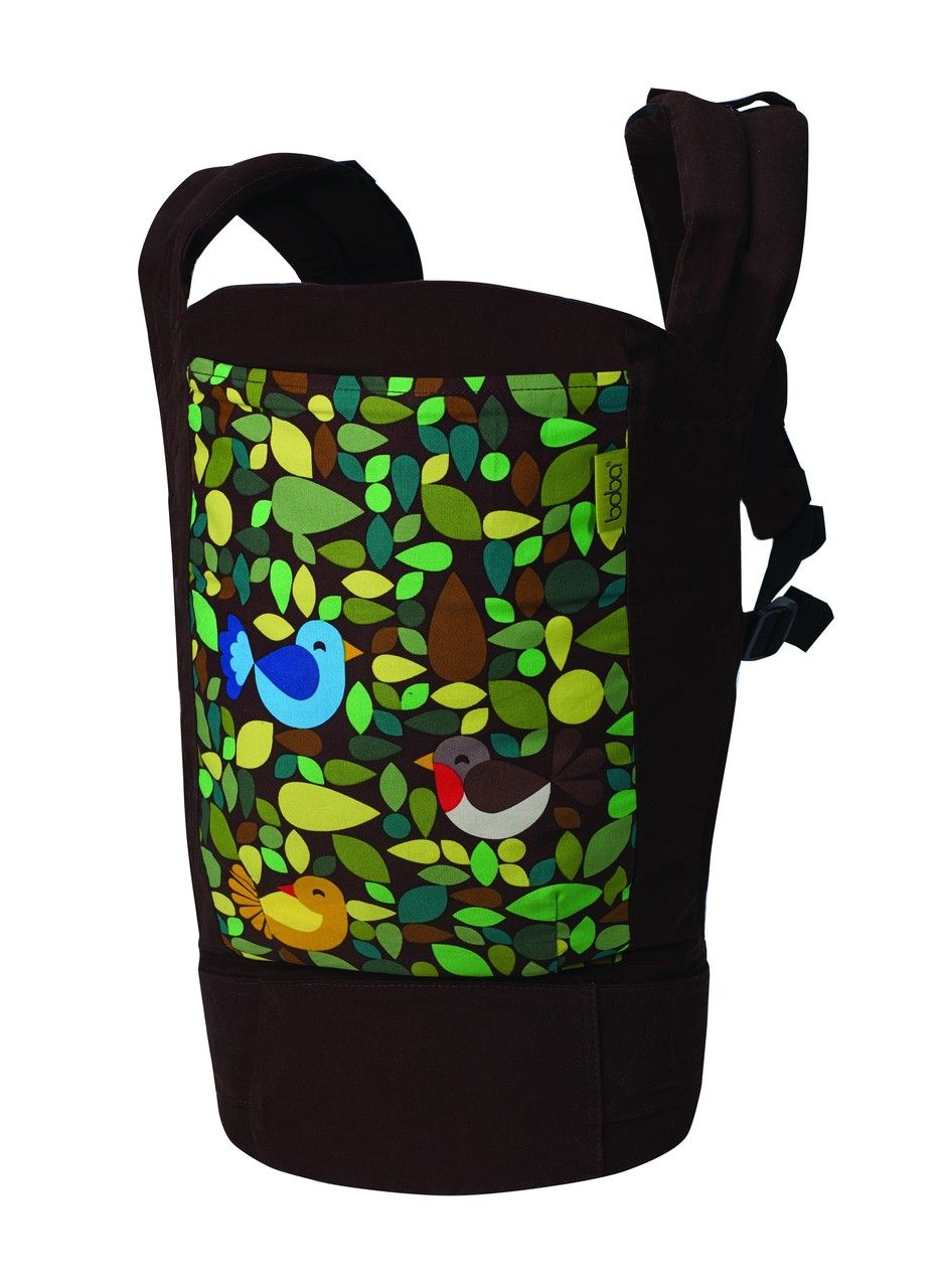 Boba 4G Baby and Toddler Carrier in the Tweet print  The
