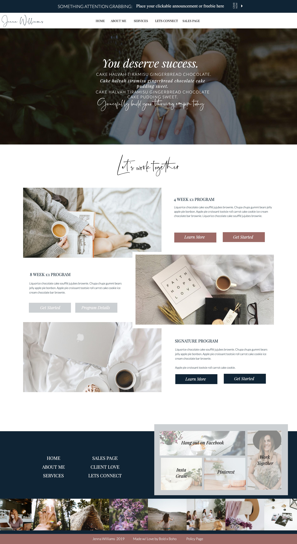 The World Changer Website Template Custom Web Design Web Design Resources Web Design Inspiration