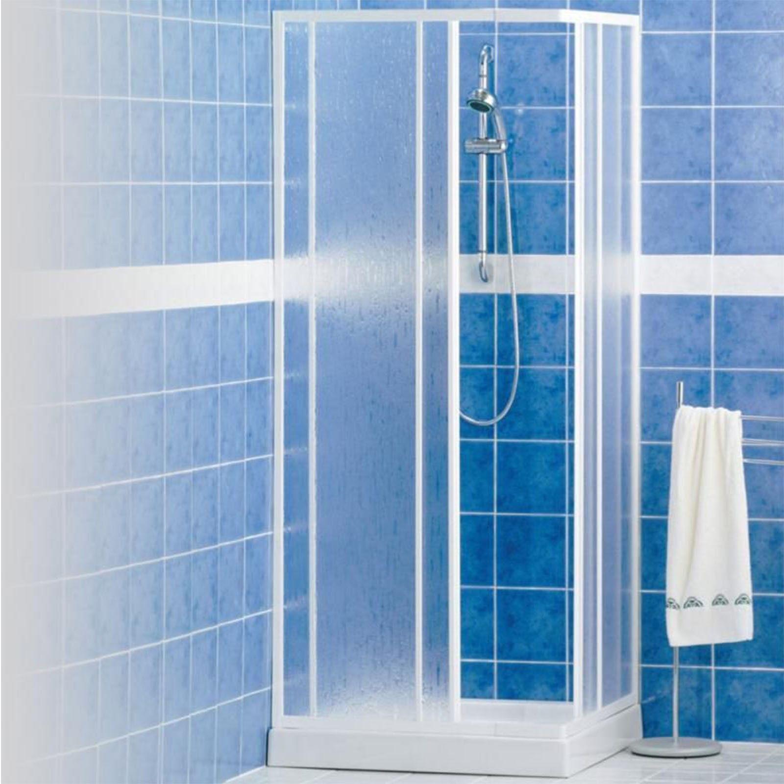 GLASS Box doccia ISY IO scorrevole a nicchia da 120 cm e