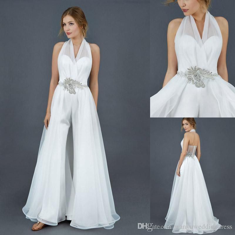 Image Result For Bridal Pantsuit With Train
