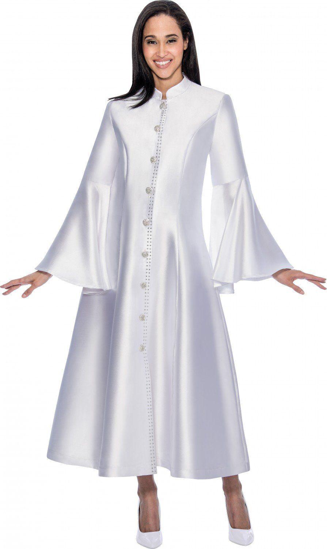 Regal Robes RR9031-White   Theology   Pinterest   Robe, Mandarin ...