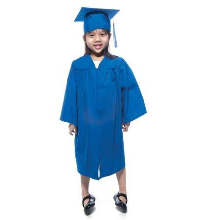 Kindergarten Matte Graduation Gown Graduation Gown Graduation Cap And Gown Gowns