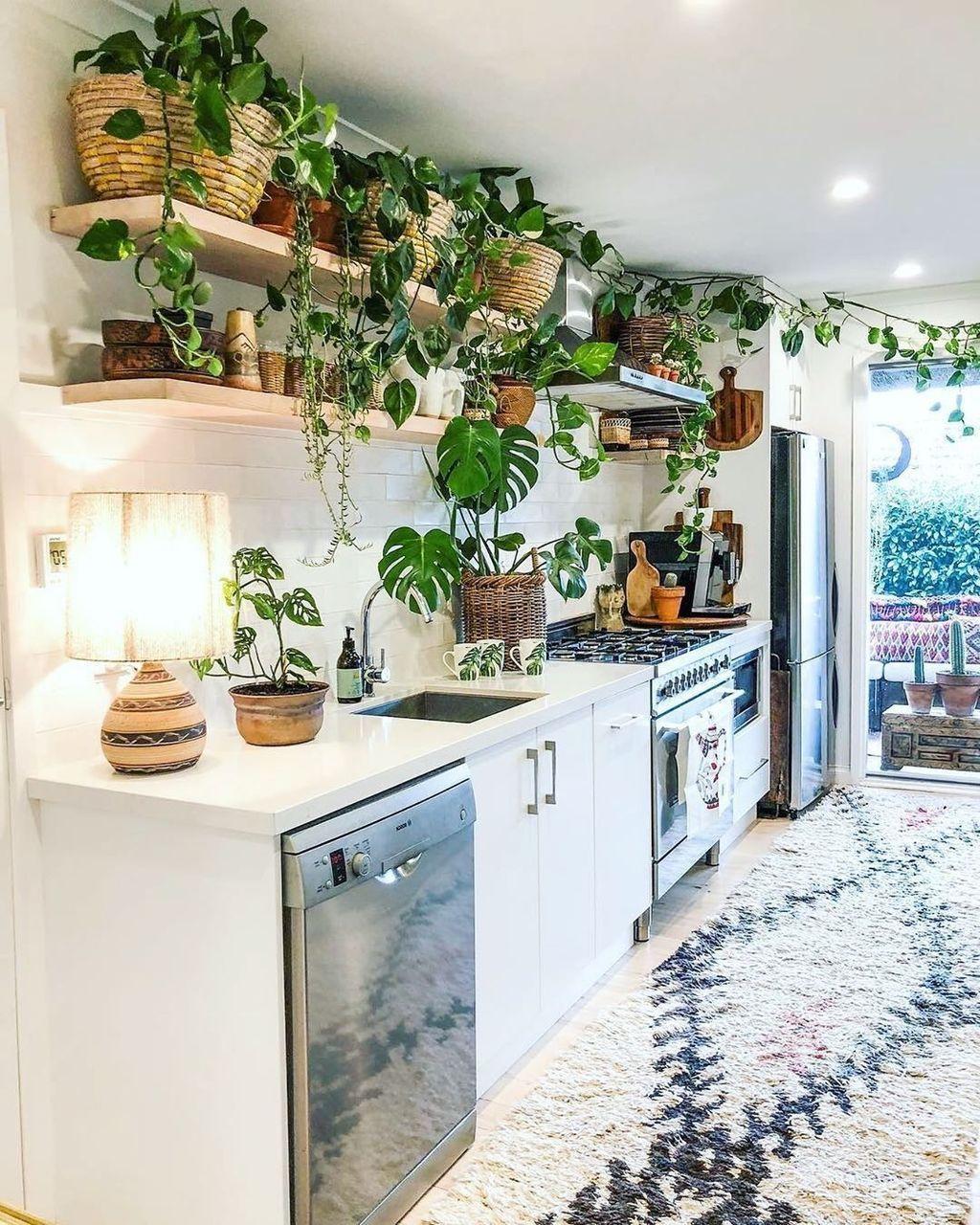 36 lovely bohemian kitchen decor ideas that you will like bohemian kitchen decor bohemian on kitchen interior boho id=27015