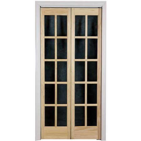 Awc Traditional Divided Light Gl 36 Inch X 80 5 Bifold Door Doors And