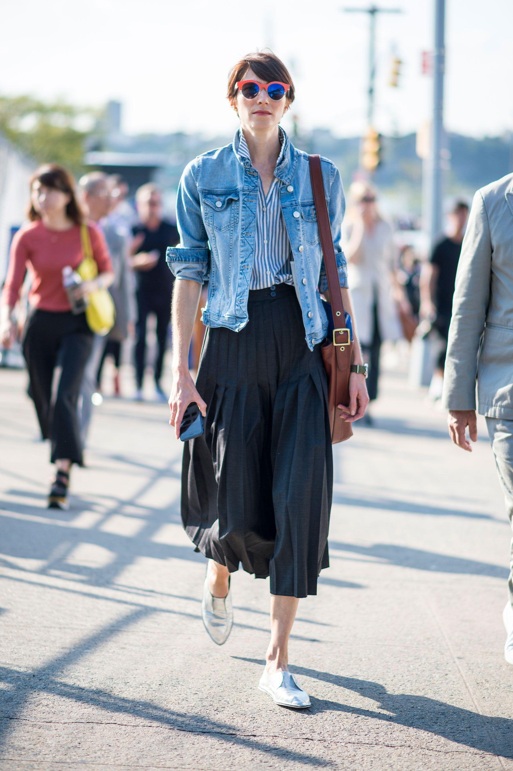 ec08ae11e8 New York Fashion Week Street Style