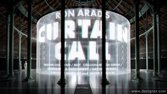 Curtain Call: Major Installation by Ron Arad Comes to the Roundhouse