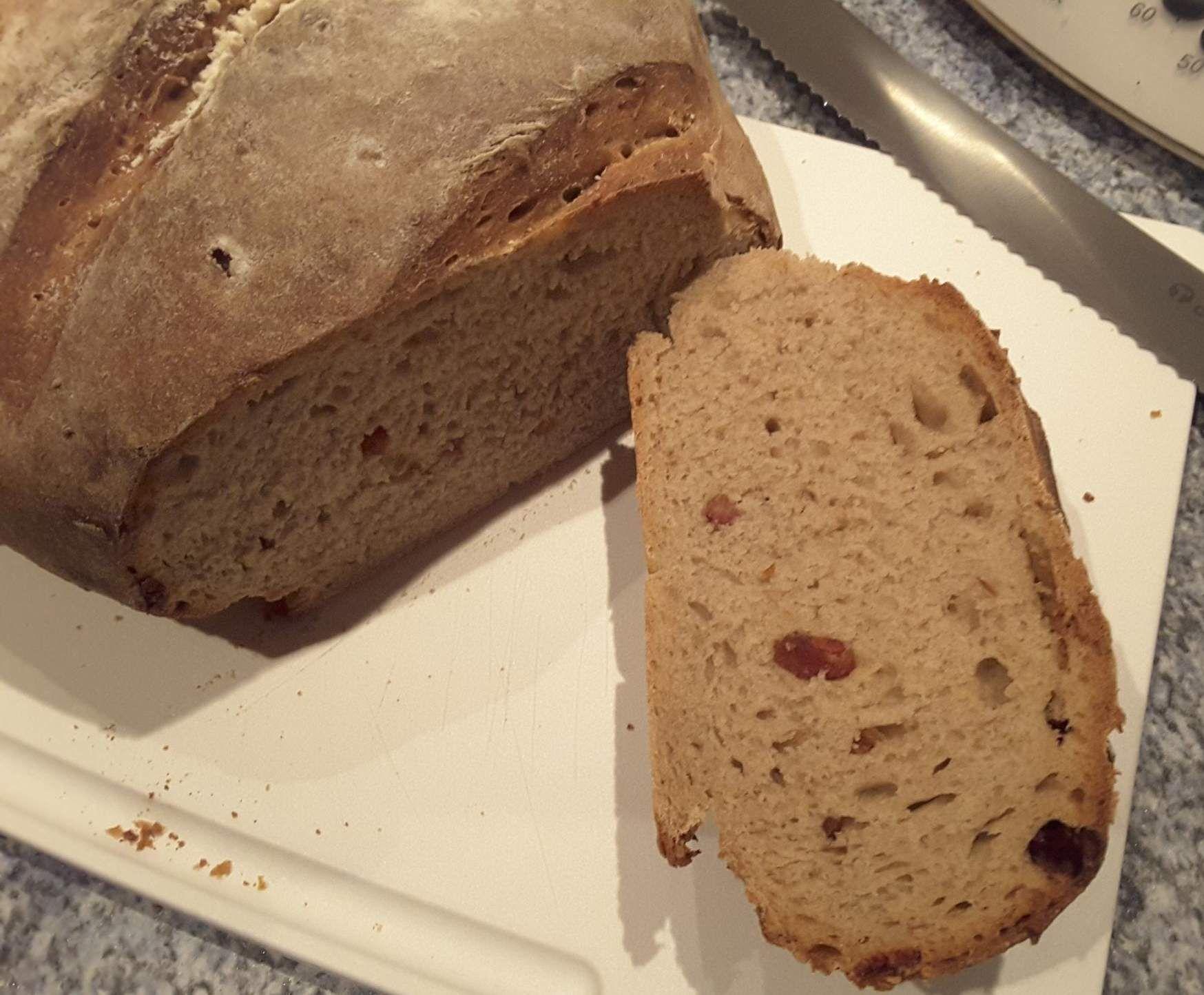 Rezept Herzhaftes Roggen-Weizenbrot mit Zwiebeln und Speck vom onlineversand-hobbykoch von la lunica strega - Rezept der Kategorie Brot & Brötchen