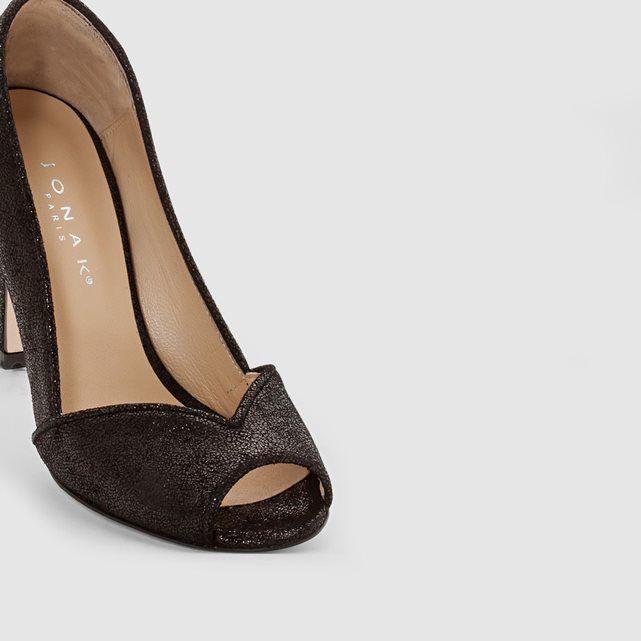 Boots cuir à bride vivian Jonak noir | La Redoute