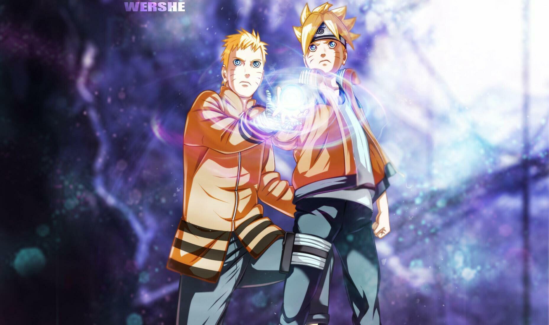Naruto E Boruto Rasengan