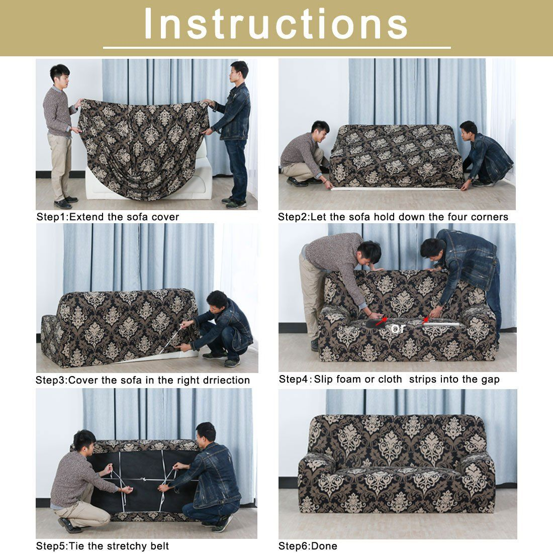 Uxcell Stretch Sofa Slipcover Sofa Covers Chair Covers 1 Seat Protectors Couch Covers Featuring Soft Form Fit Couch And Loveseat Slip Covers Couch Sofa Covers
