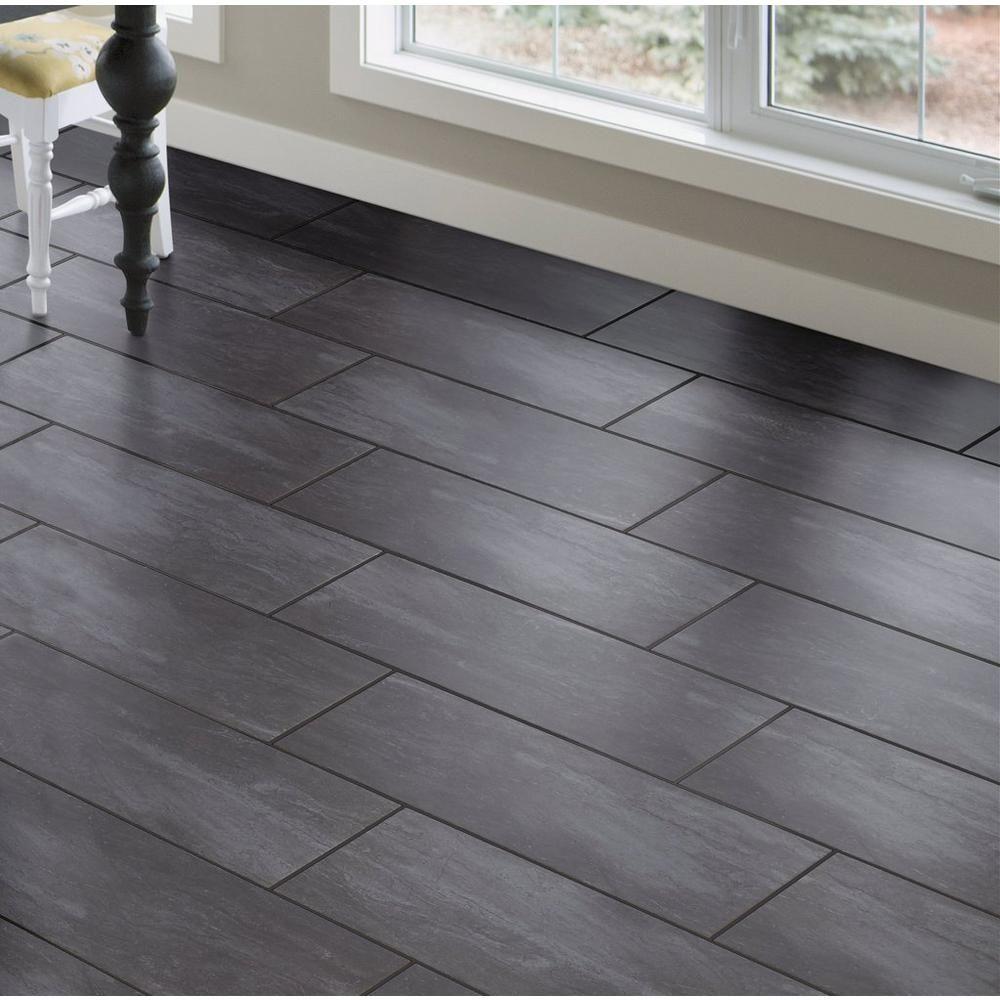 Costa Bella Nero Porcelain Tile Floor Decor Grey Floor Tiles Living Room Wood Look Tile Floor Tile Floor Living Room