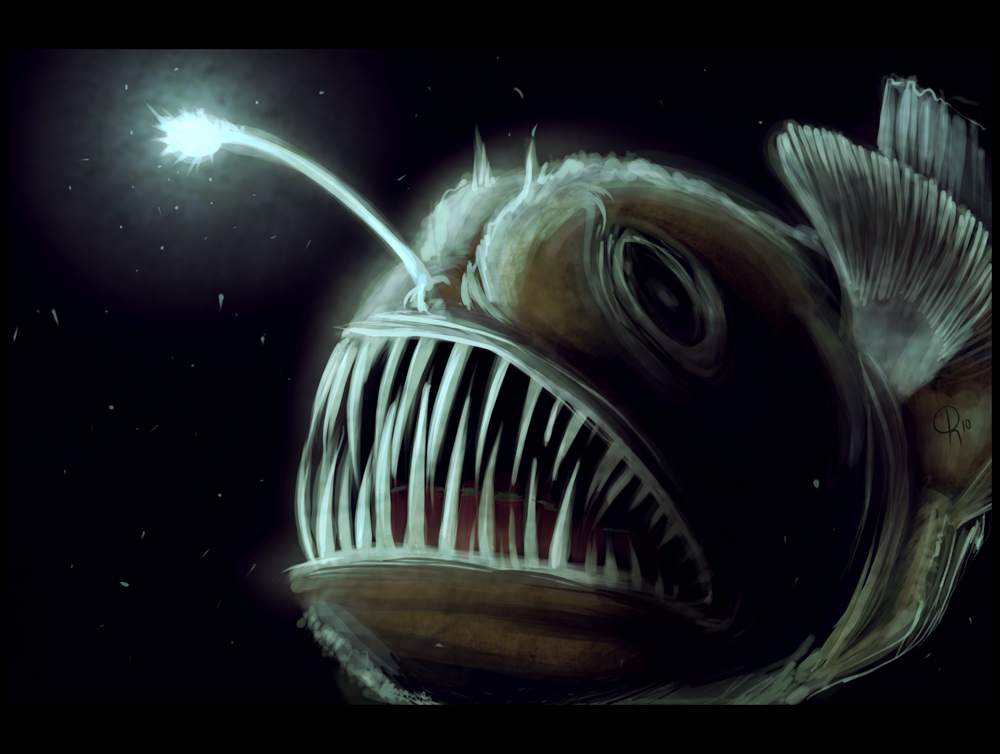 Angler Fish Or Lantern Very Much Like Described In First Peter 5