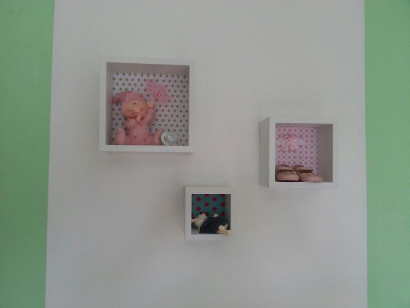 Baby kids girl bedroom wall deco