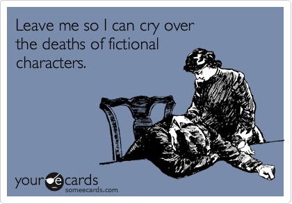 Image result for someecards crying over book