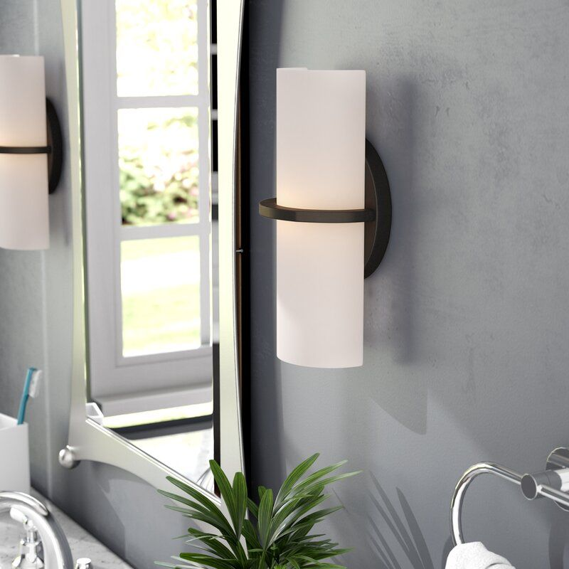 Throggs 1 Light Led Dimmable Armed Sconce Sconces Wall Lights Led Lights
