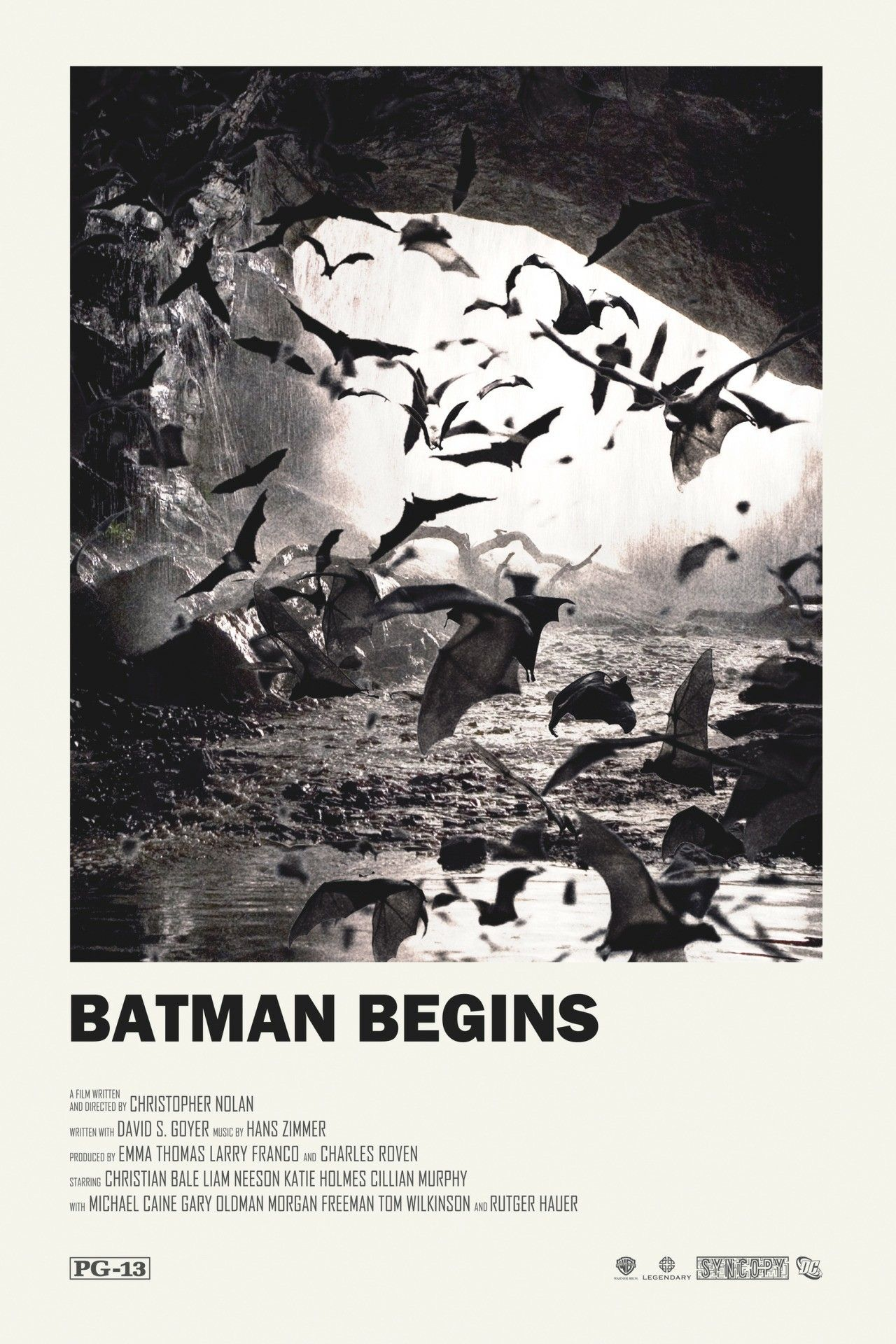 Batman Begins alternative movie poster