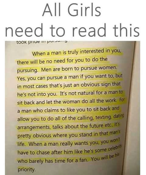 If A Man Really Loves You And Want To Make His Life Future With You