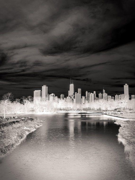 Chicago Skyline Landscape Photography Black And White Photography Urban Art Fine Art Photography The White City Landscape Photography Landscape Pictures Black White Landscape