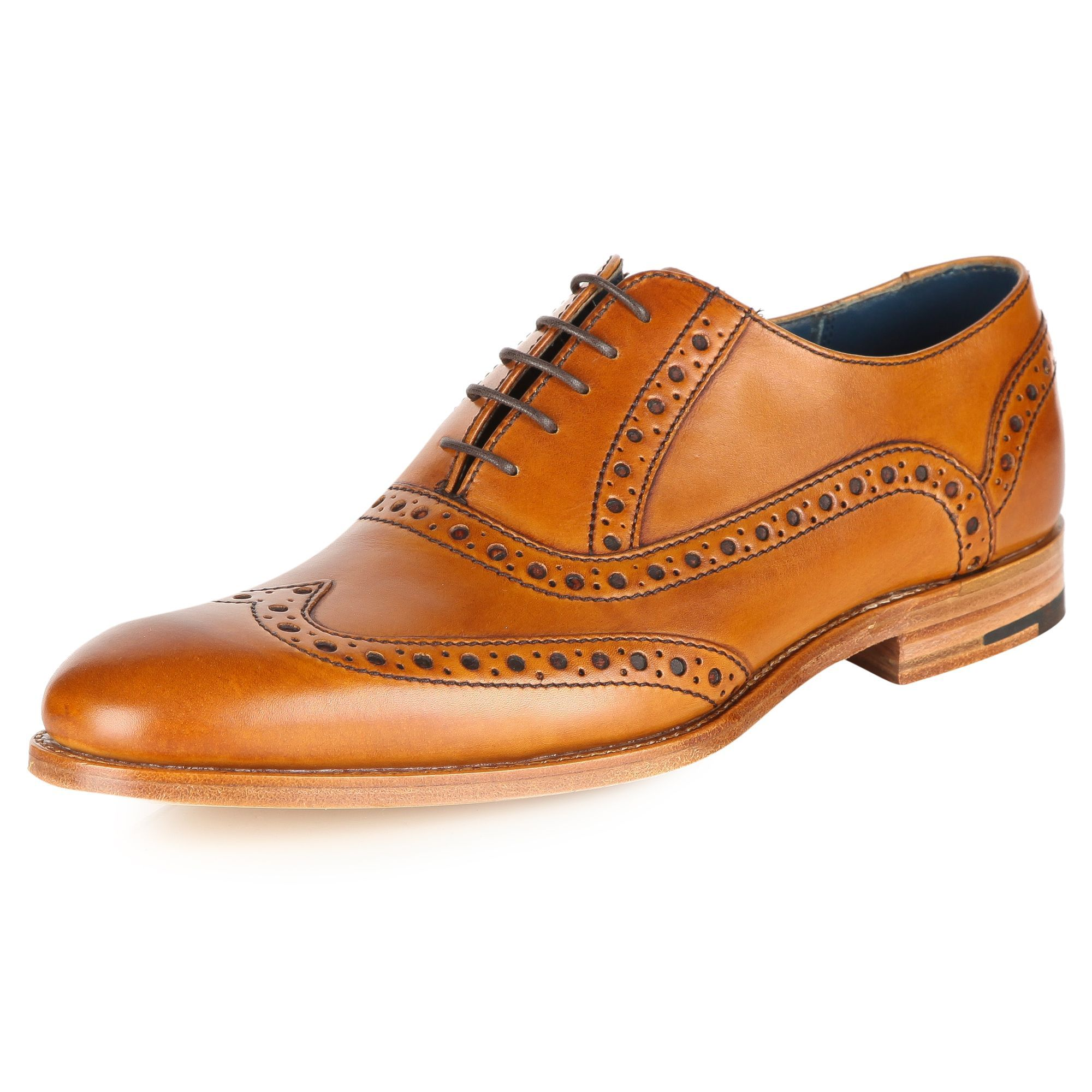 Newest Mens Barker Grant Smart Lace-Ups Brown