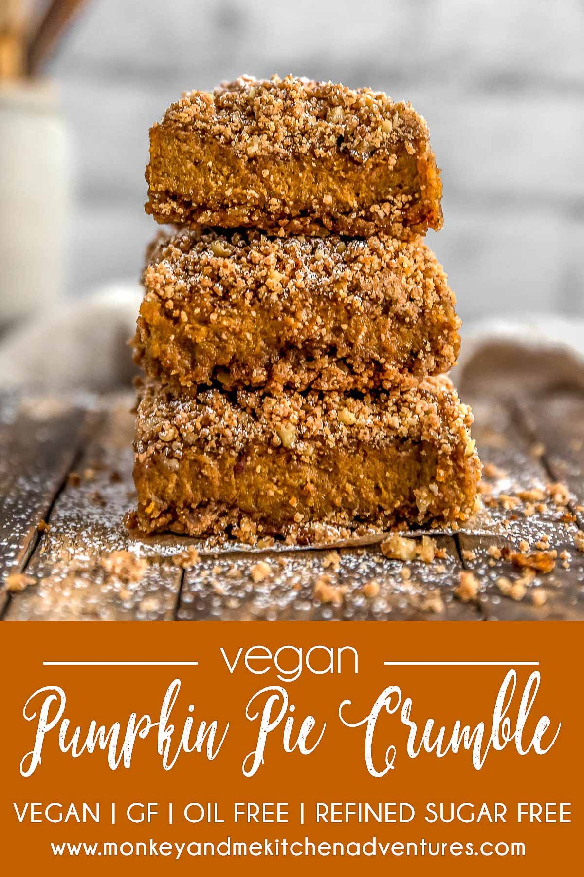 Dreamy Vegan Pumpkin Pie Crumble Velvety Pumpkin Pie And Decadent Crumble Cake Come Together In The Most Vegan Pumpkin Vegan Pumpkin Pie Vegan Dessert Recipes