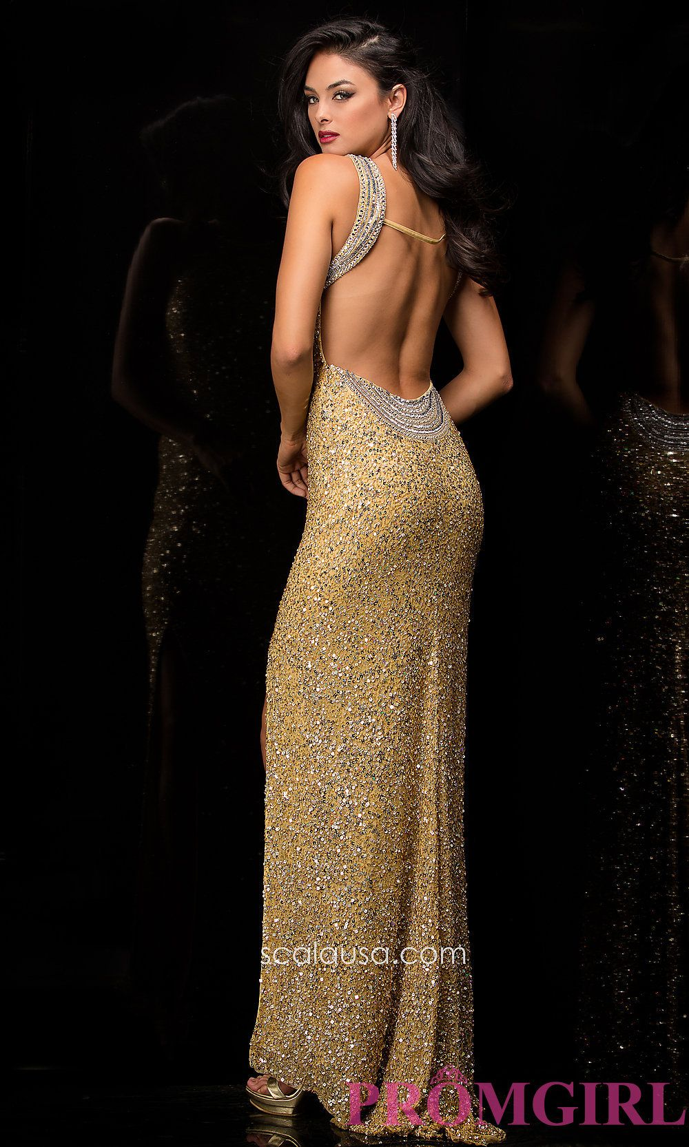 Dress style scala back image prom dress pinterest prom