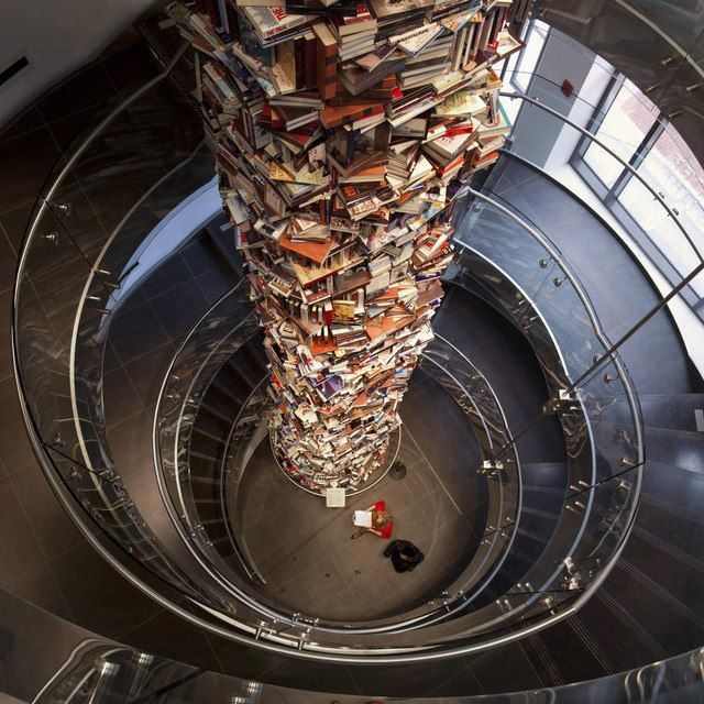 ¿La Torre de Babel habrá sido algo como esto?