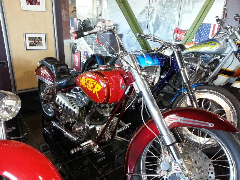 Arlen Ness Hulkster motorcycle. #ArlenNess museum of motorcycles ...