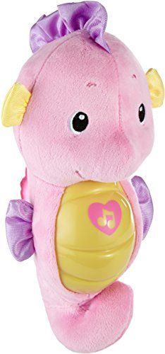Fisher Price Soothe And Glow Seahorse Pink Plays Up To 5 Minutes