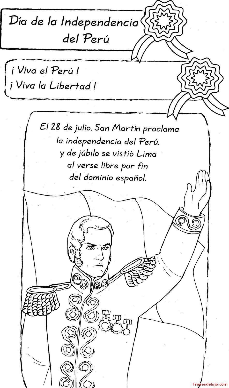 proclamacion de la independencia del peru resumen para niños ...