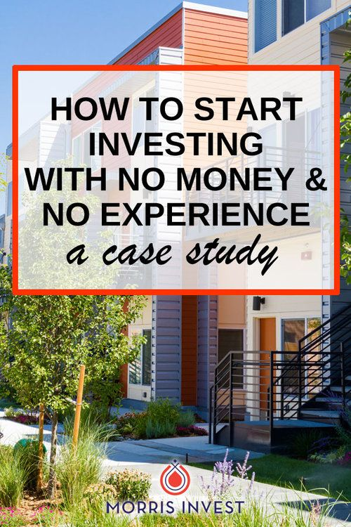 Interesting case study    Getting started in real estate