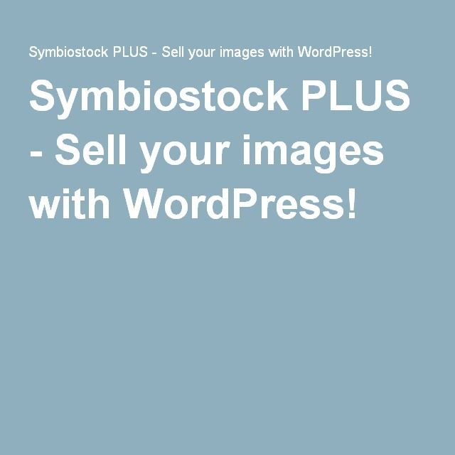 Symbiostock PLUS - Sell your images with WordPress! Microstock - shared spreadsheet