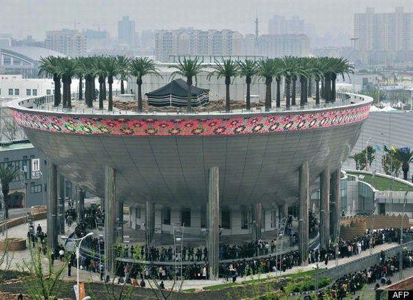 Best Architectural Buildings World in Pavillions from Shanghai Expo