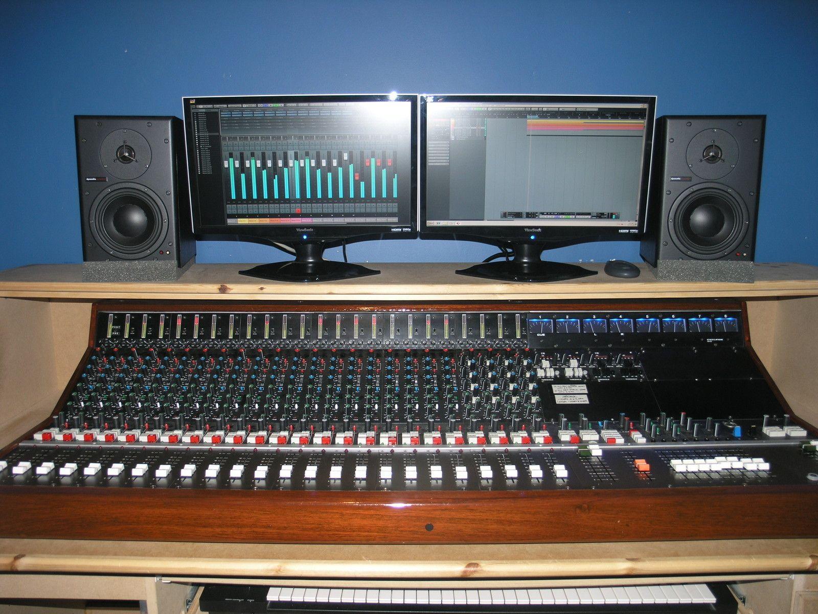 Chilton Qm3 24 8 2 Mixing Console Mixer Desk Like Api Neve Calrec Audix Studio Setupstudio
