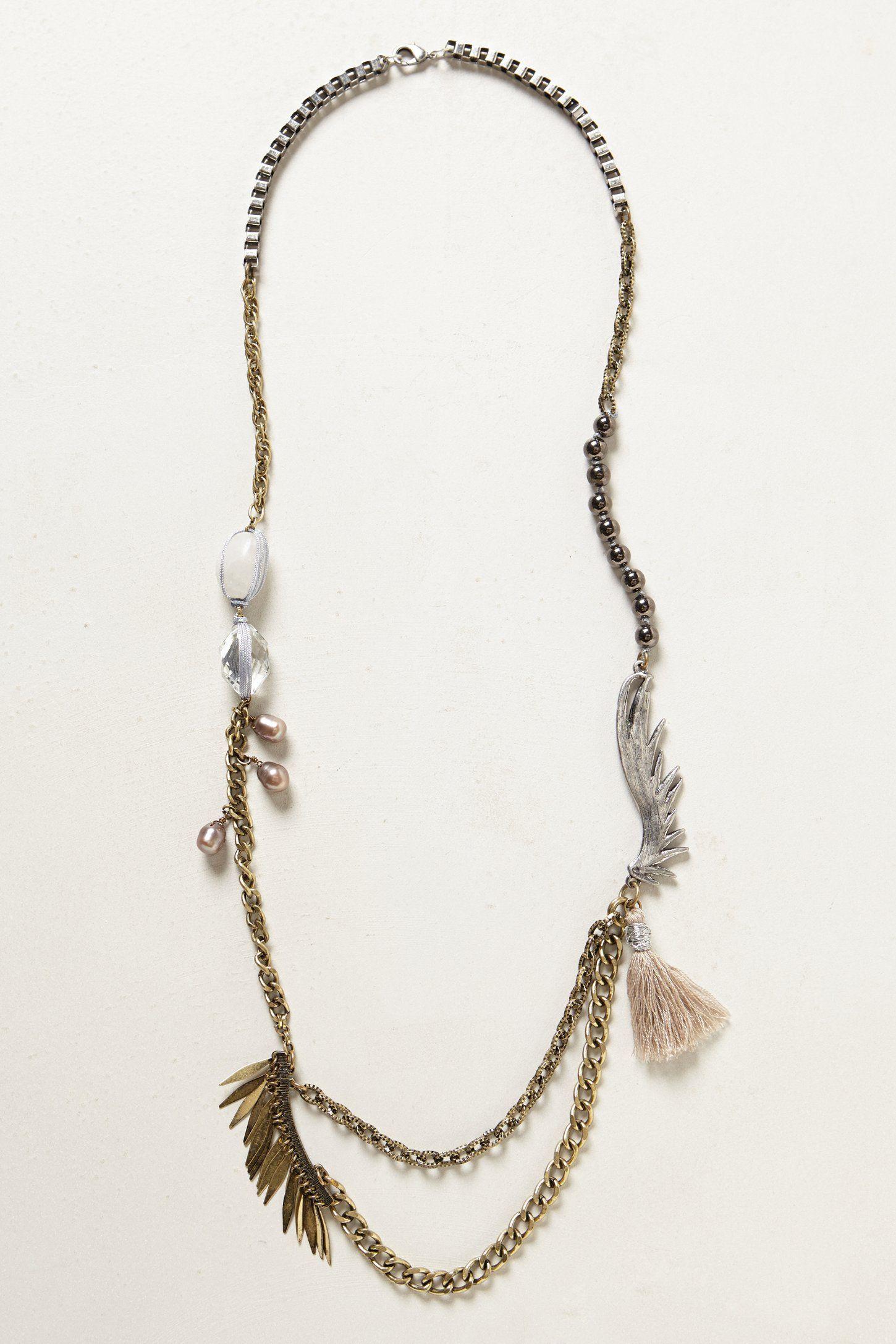 Swiftness Necklace - anthropologie.com
