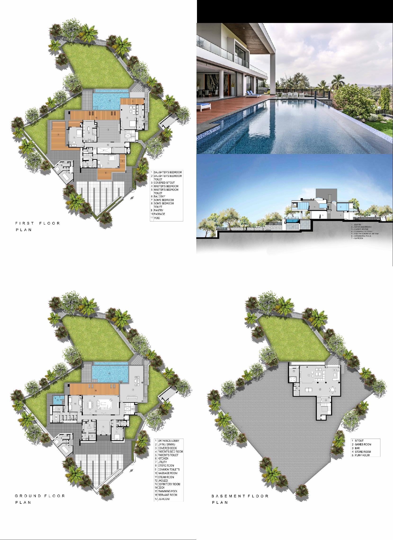 Infinity House Ga Design Resort Design Plan Home Design Plan Floor Plans
