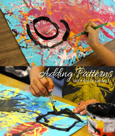 Paint Like Pollock: Art Project for Grades K-2 | Trabalho ...