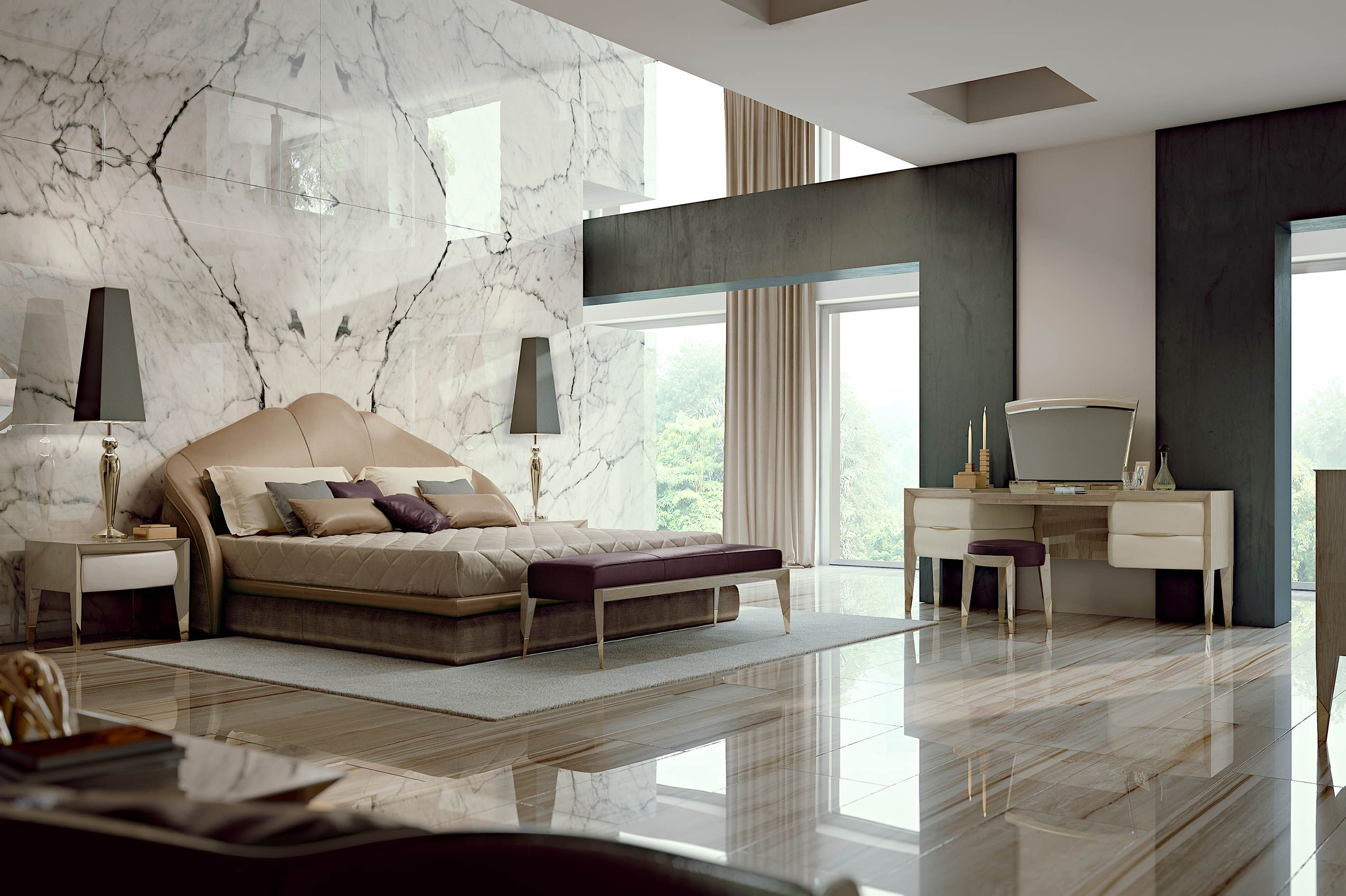 Orion bedroom italian luxury design bedroom for Bedroom ideas luxury