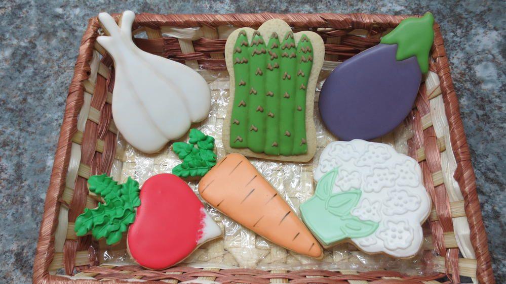 Cesta de Vegetales | Cookie Connection