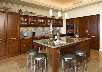 Kitchen islands with seating for 6 kitchen w gourmet - Kitchen island designs with seating for 6 ...