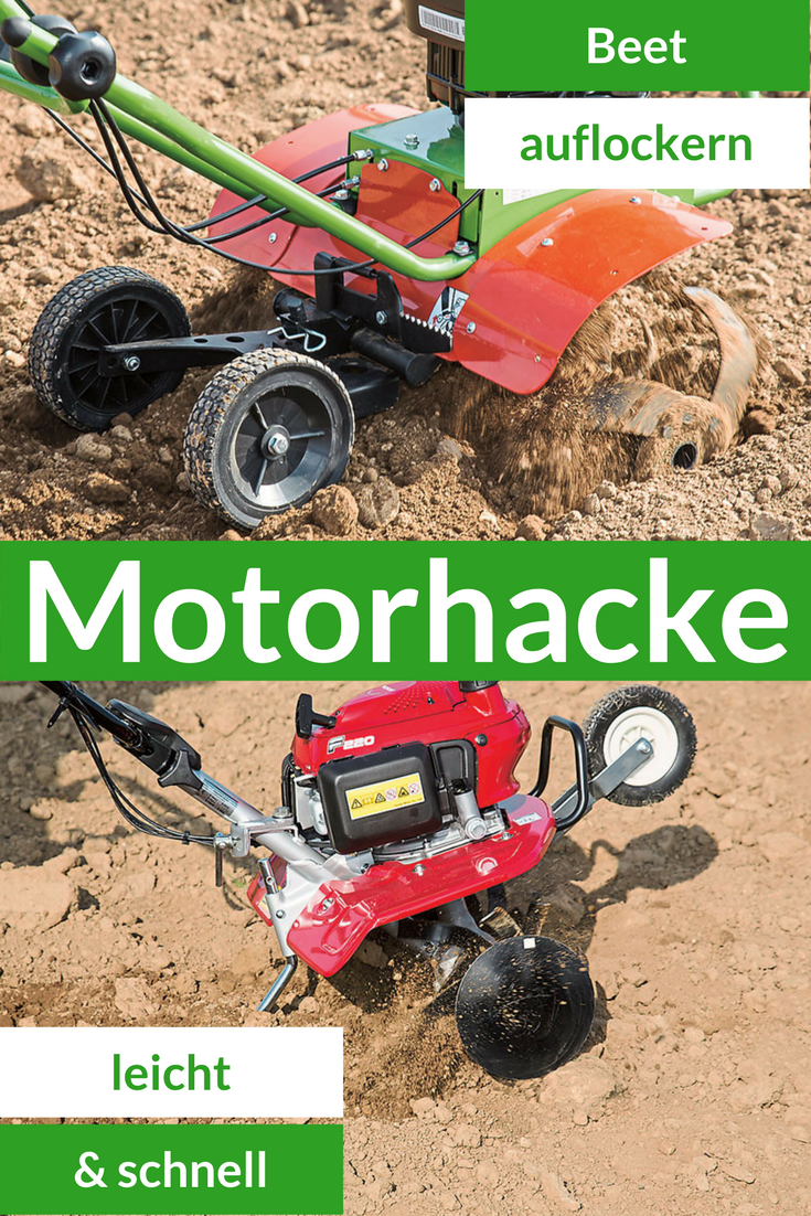 Motorhacke Selbst De Garten Umgraben Gartenbedarf Motor