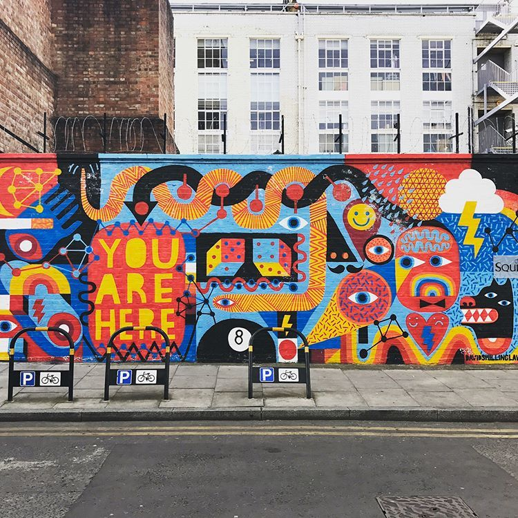 David Shillinglaw Mural Artist Illustration Drawing Urban Art Street Streetart London Shoreditch Street Art Artists Street Art Graffiti Street Art