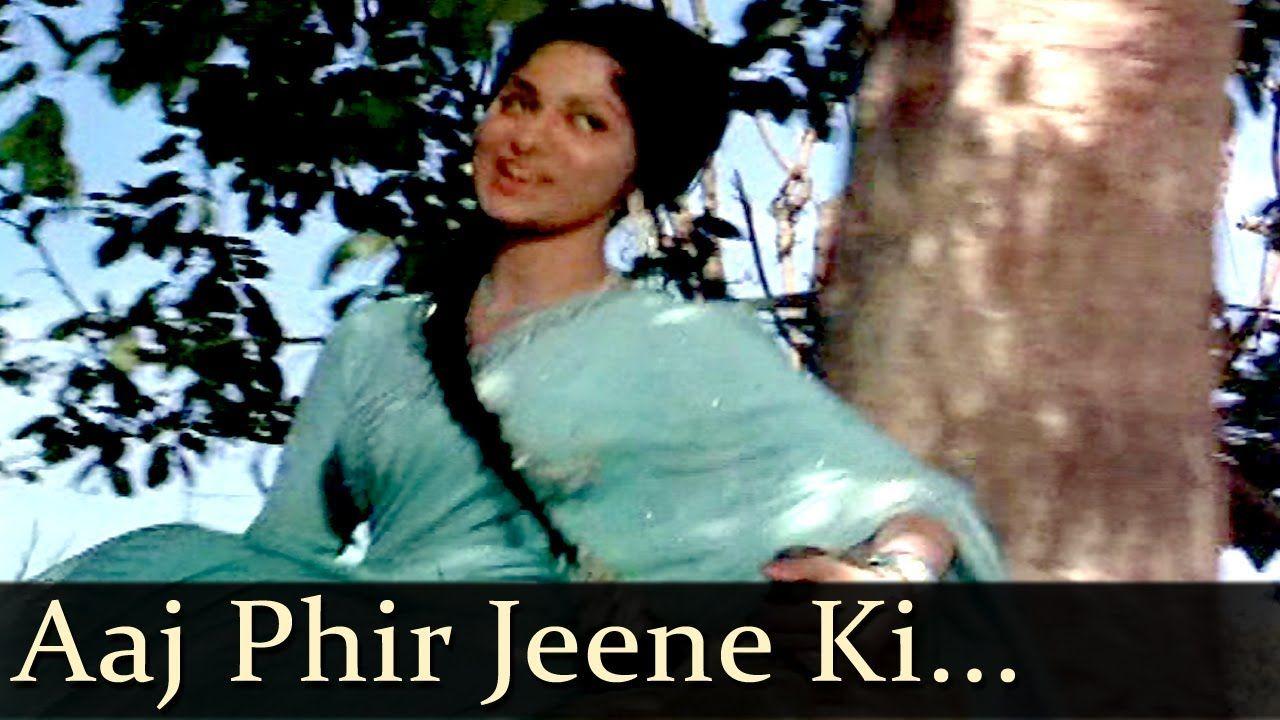aaj phir jeene ki tamanna hai download song